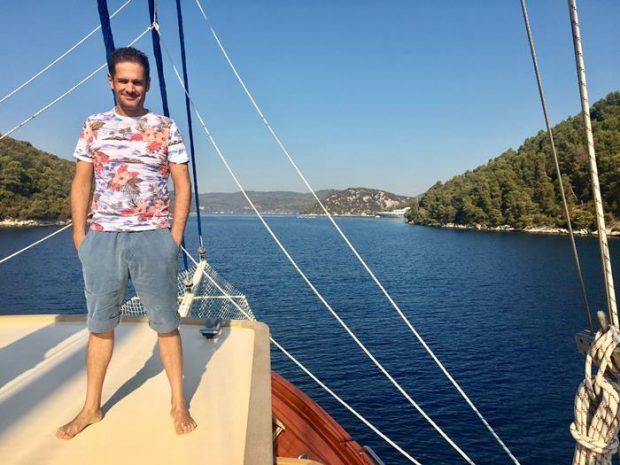 Silvio de vacaciones en Croacia
